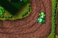 Aparcamiento de tractor
