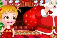 Baby Hazel en Navidad