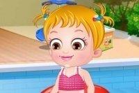 Baby Hazel se divierte en verano