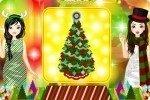 Campeonato de decoración de árboles de Navidad