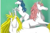 Colorea el Unicornio 2