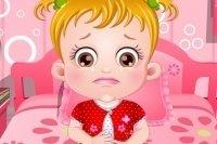 Dolor de barriga de Baby Hazel