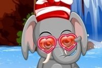 Elefante gracioso