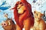 Puzzle de El Rey León